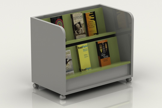 Furniture for self service libraries