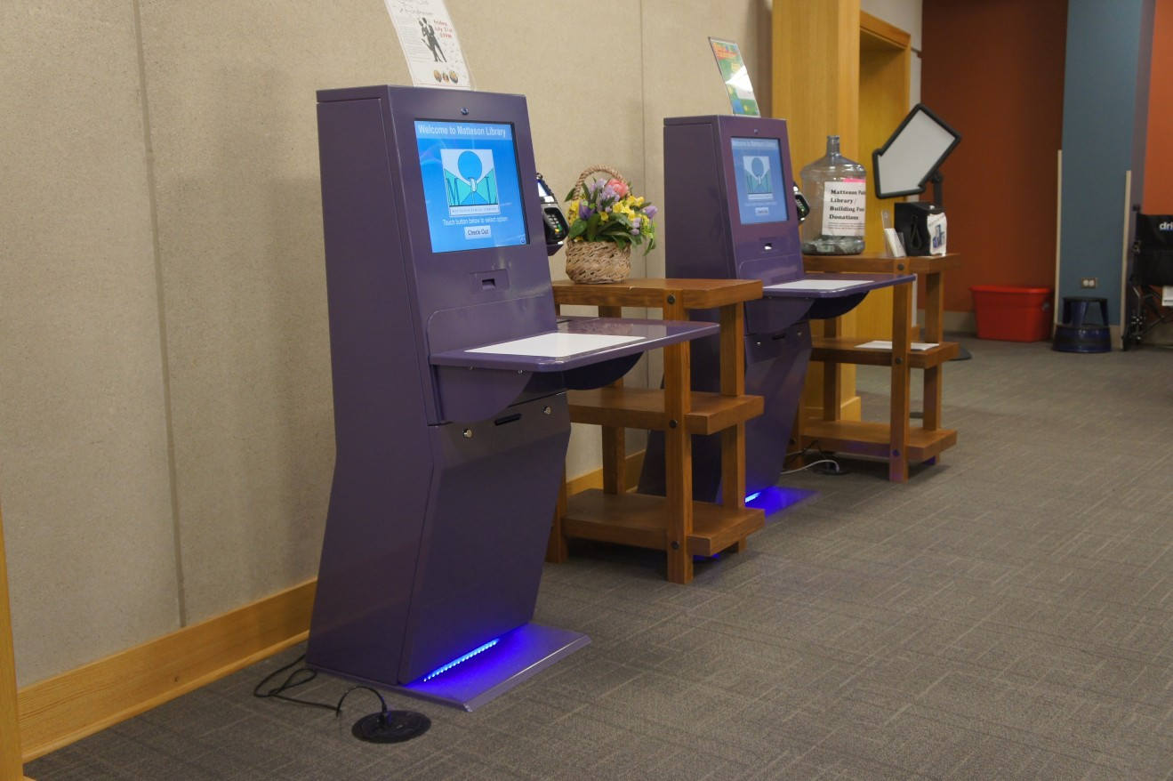 Self Service machines for Libraries and Schools