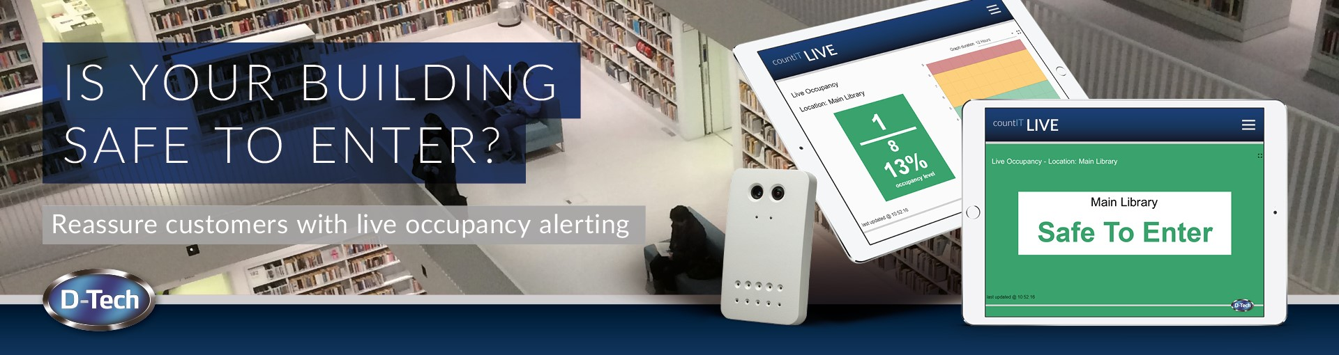 Live Occupancy Monitoring Solutions